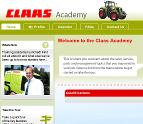Claas Academy - elearning for Claas products and services