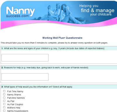 Nanny Success - find and manage your childcare
