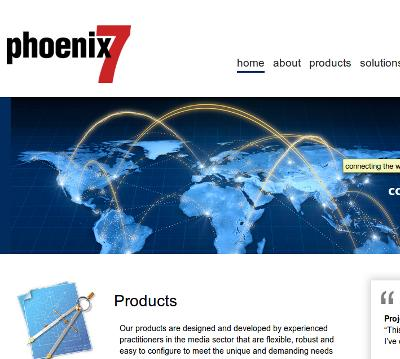 Phoenix7 - Digital Asset Management, Integrated Systems and Channel Management